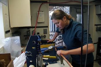 Preparing Helium Samples