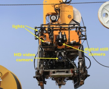 ROPOS camera and light configuration