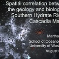 Martha James: Spatial Correlation Between the Geology and Biology at SHR
