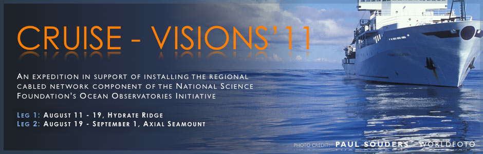 The VISIONS'11 Expedition